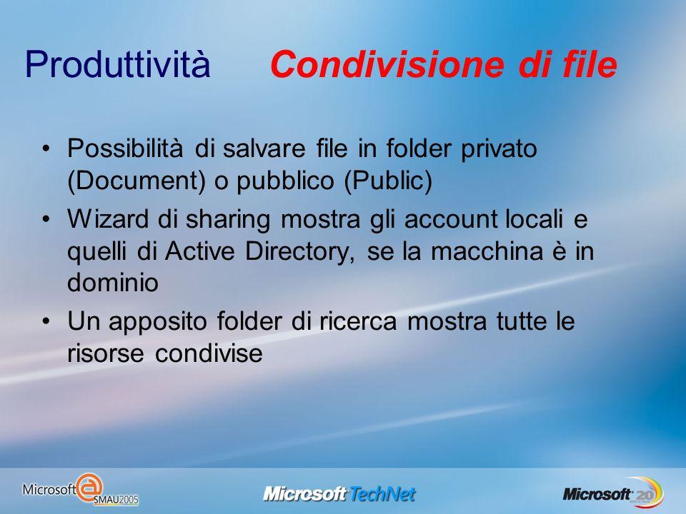 Produttività Condivisione di file