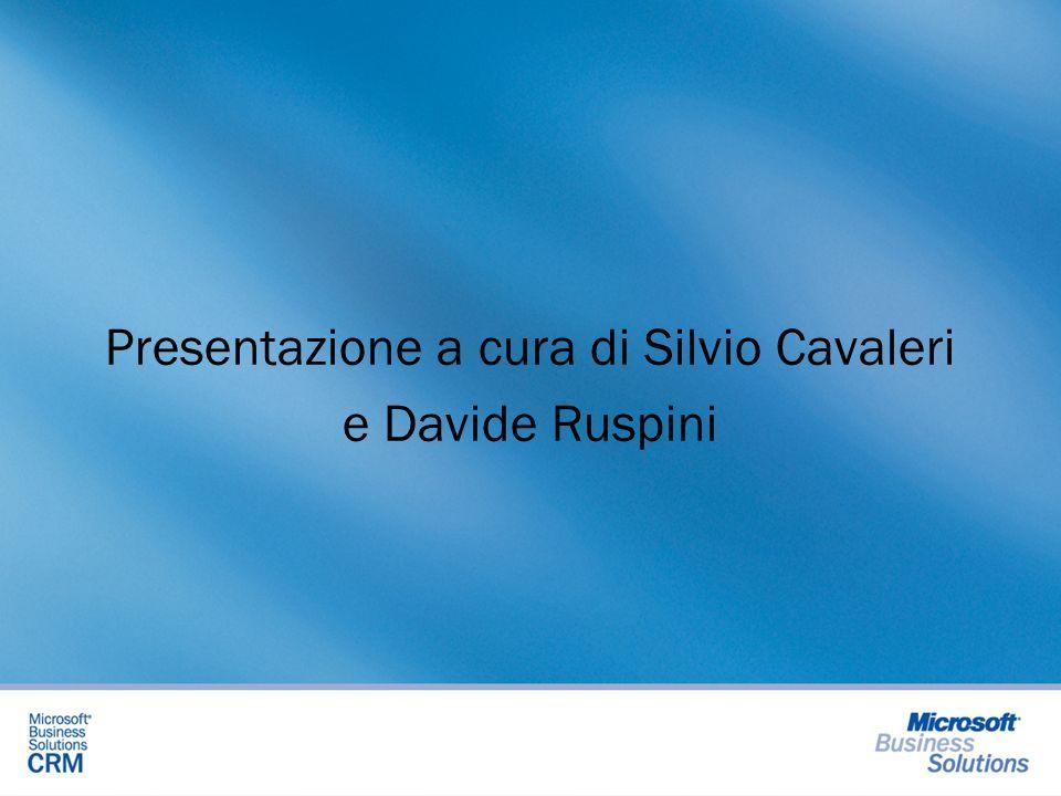 Presentazione a cura di Silvio Cavaleri