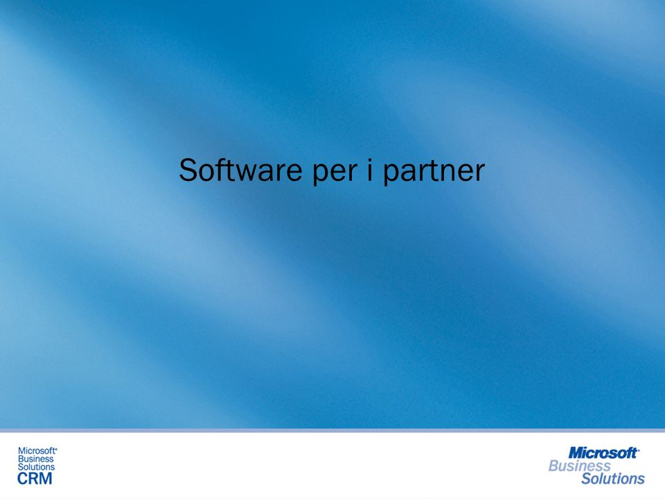 Software per i partner