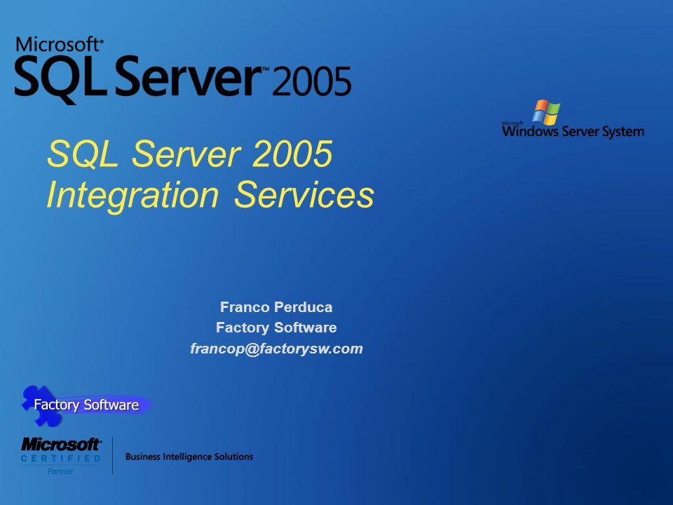 SQL Server 2005 Integration Services