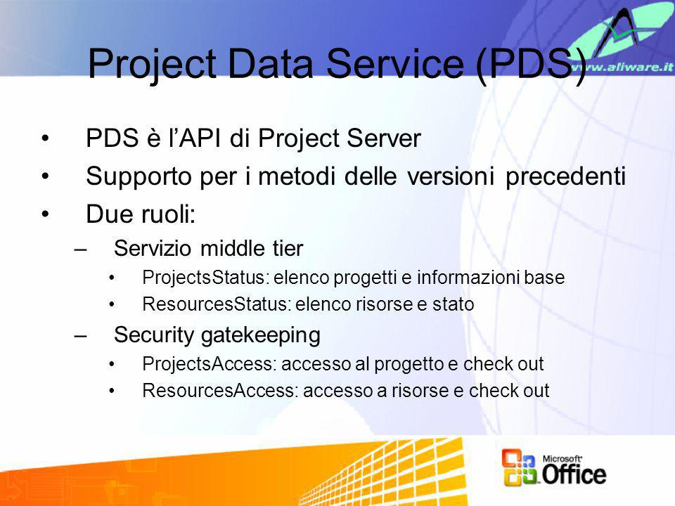 Project Data Service (PDS)