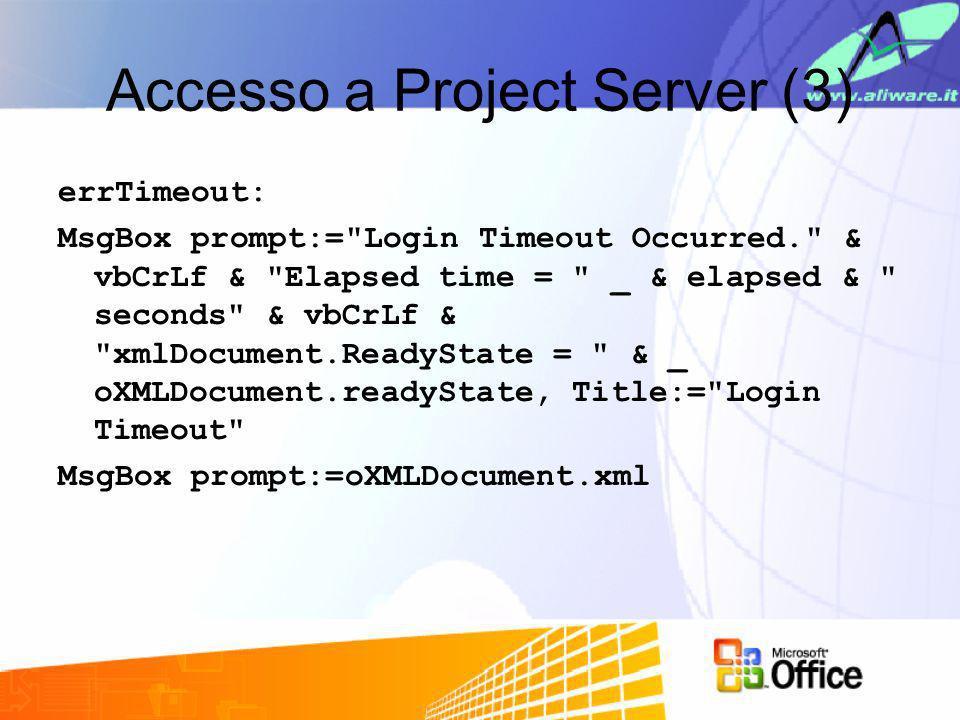 Accesso a Project Server (3)
