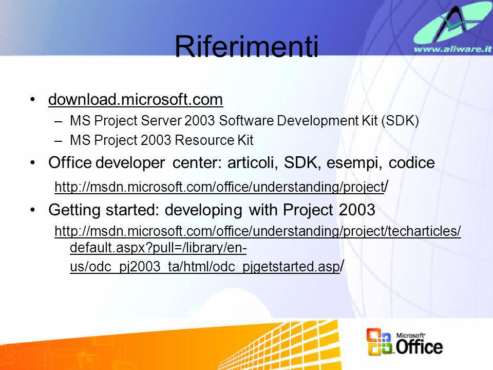 Riferimenti download.microsoft.com