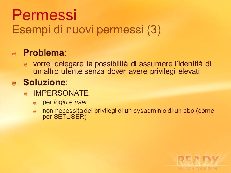 Permessi Esempi di nuovi permessi (3)