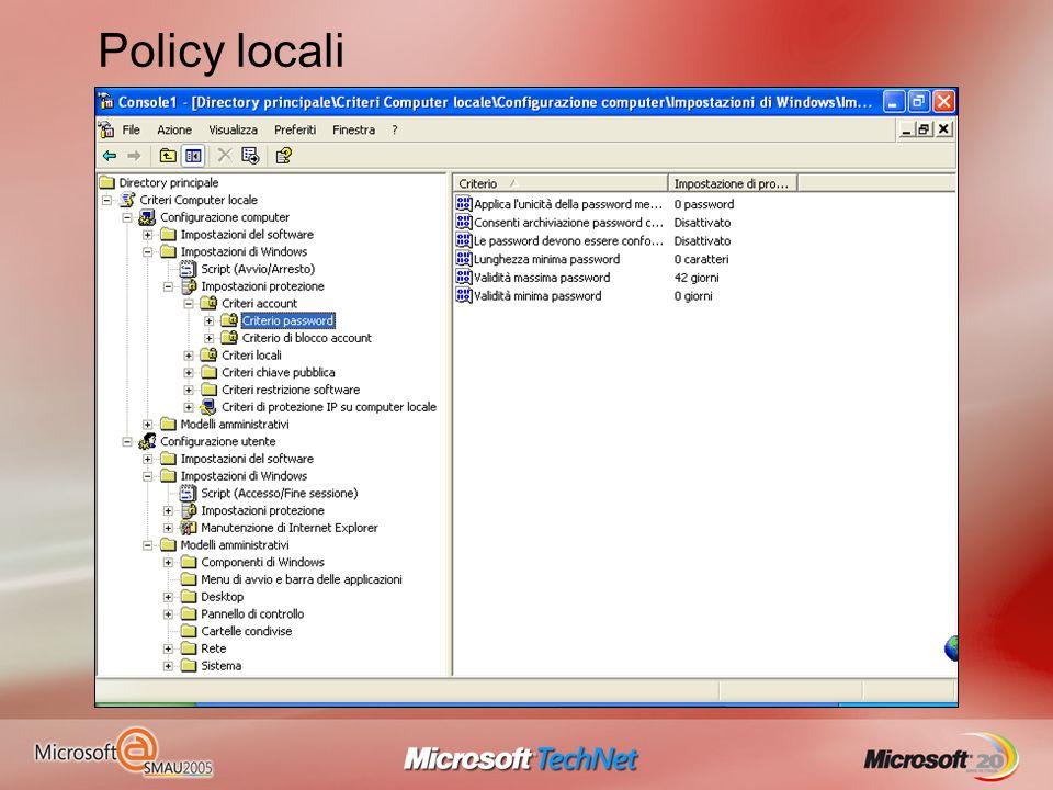 Policy locali