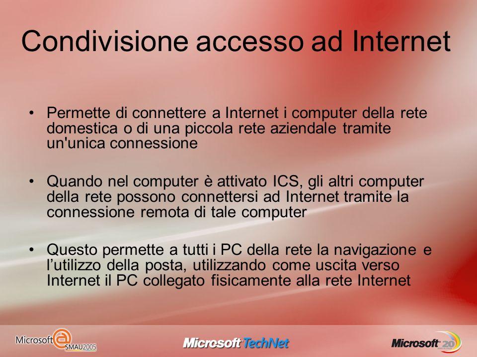 Condivisione accesso ad Internet