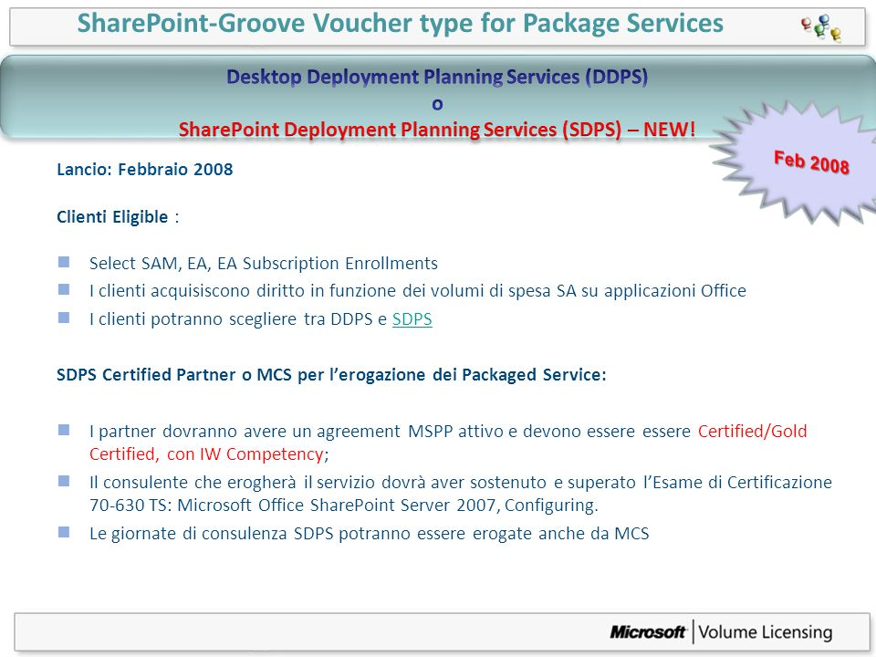 SharePoint-Groove Voucher type for Package Services
