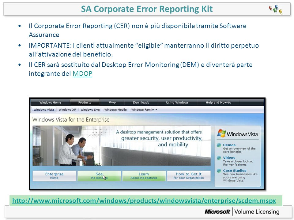 SA Corporate Error Reporting Kit