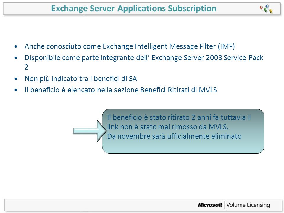 Exchange Server Applications Subscription