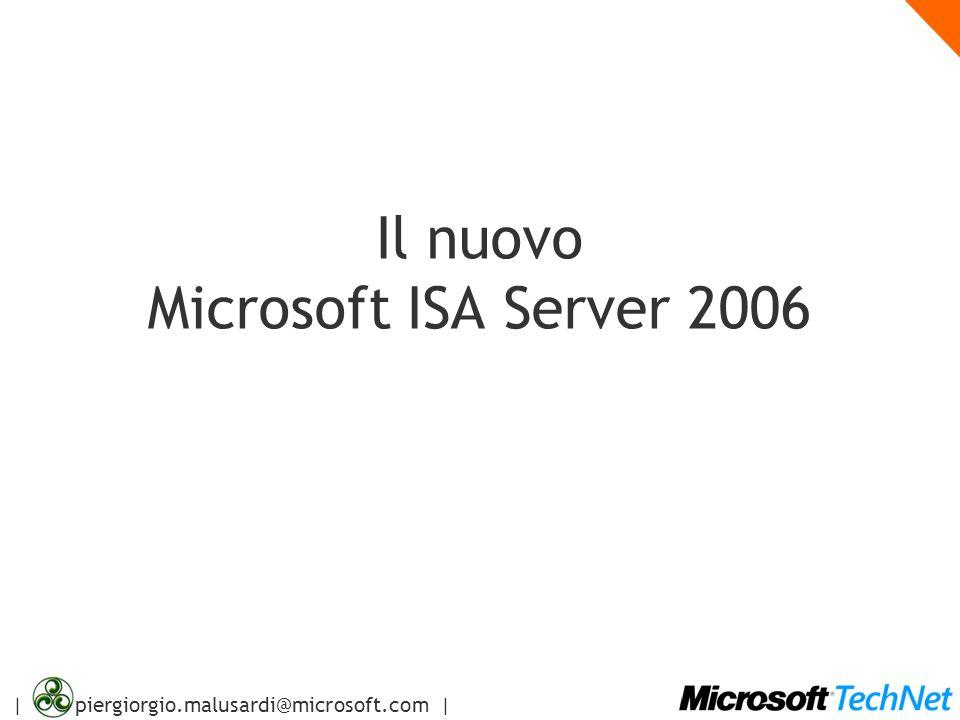 Il nuovo Microsoft ISA Server 2006