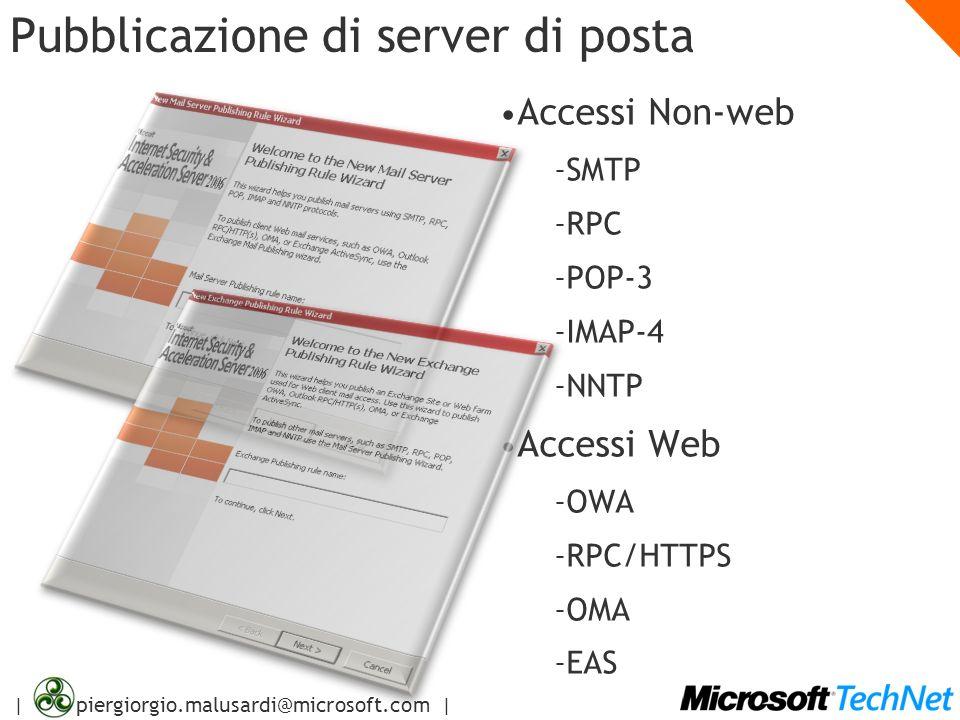 Pubblicazione di server di posta