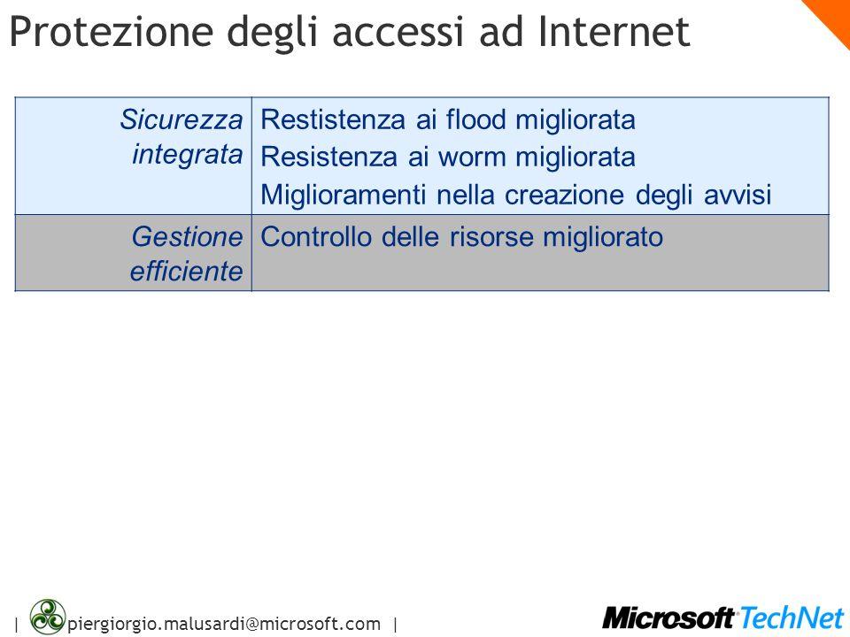 Protezione degli accessi ad Internet