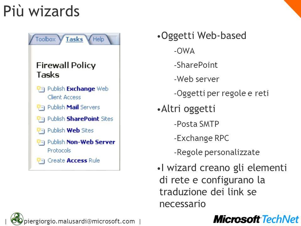 Più wizards Oggetti Web-based Altri oggetti