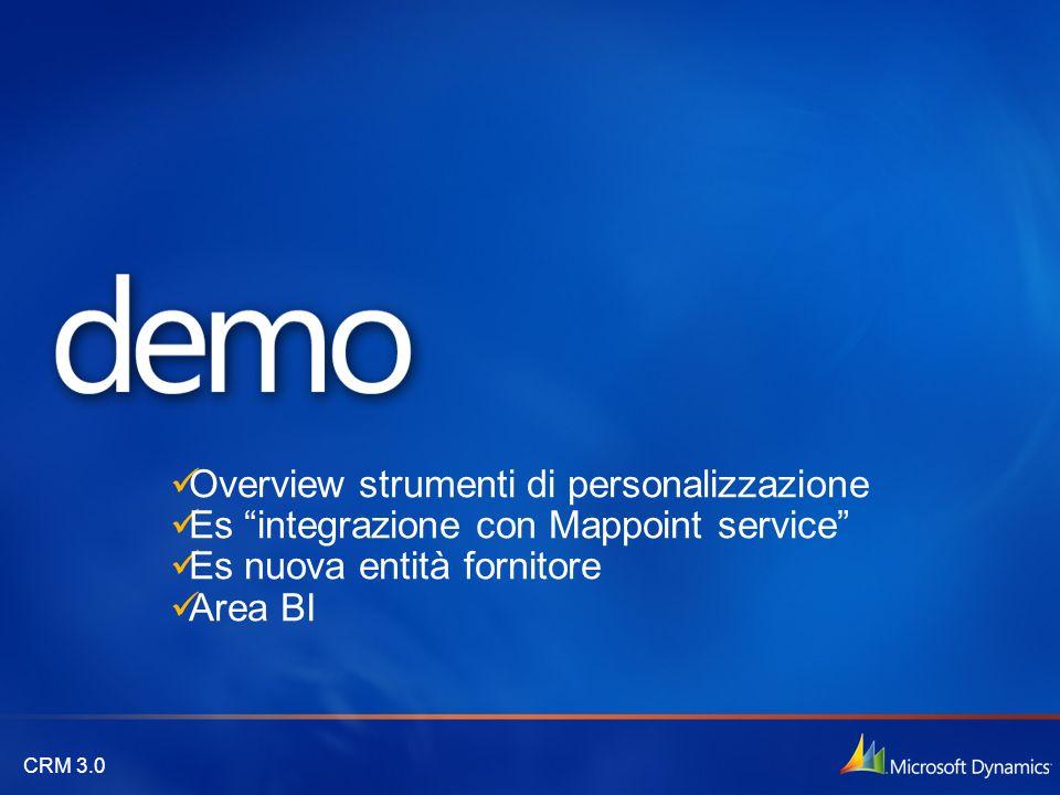 Overview strumenti di personalizzazione