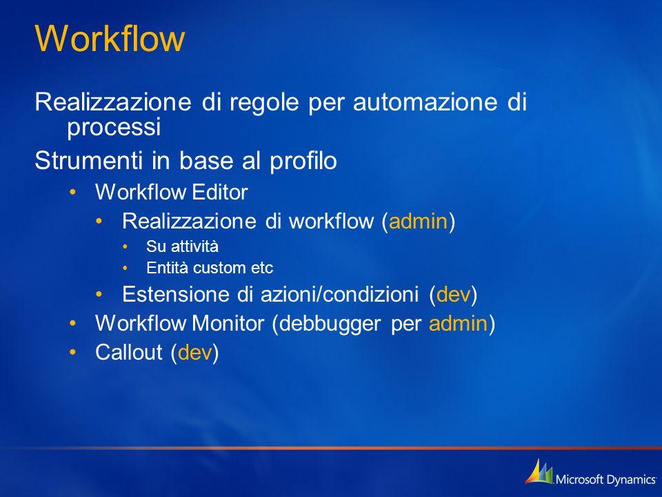 Workflow Realizzazione di regole per automazione di processi