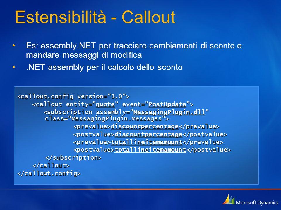 Estensibilità - Callout