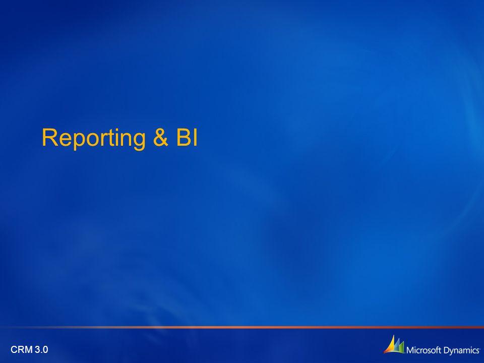 Reporting & BI