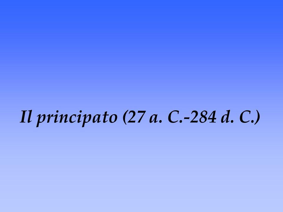 Il principato (27 a. C.-284 d. C.)