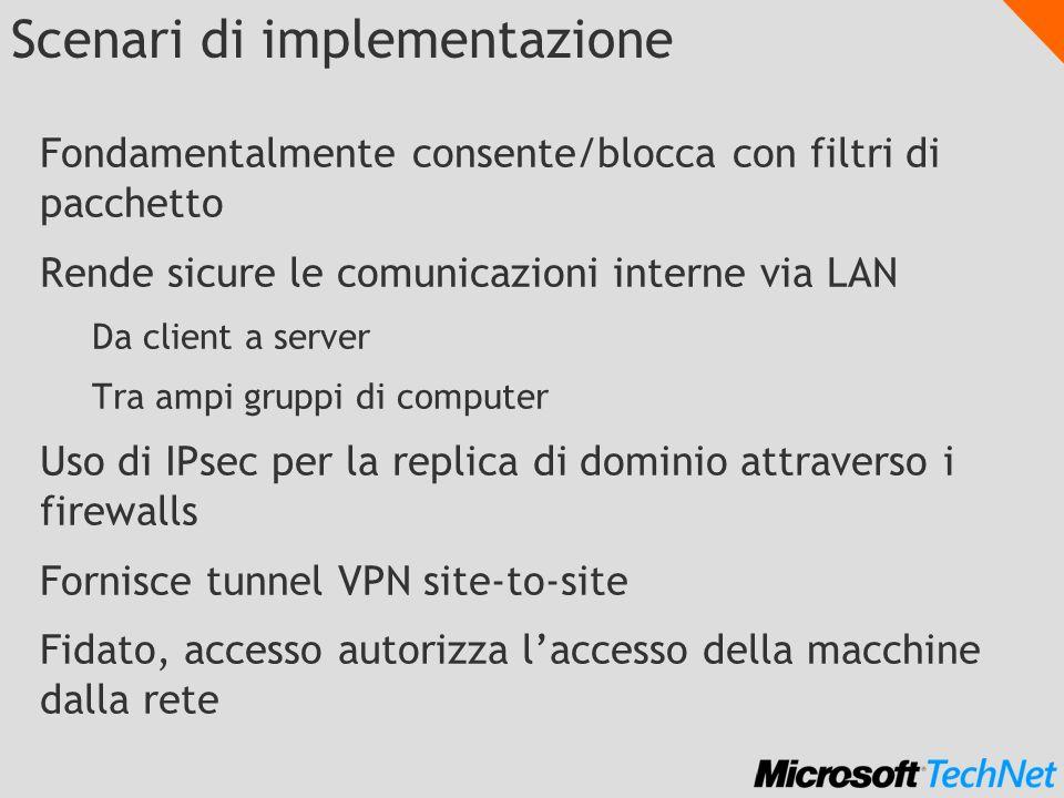 Scenari di implementazione