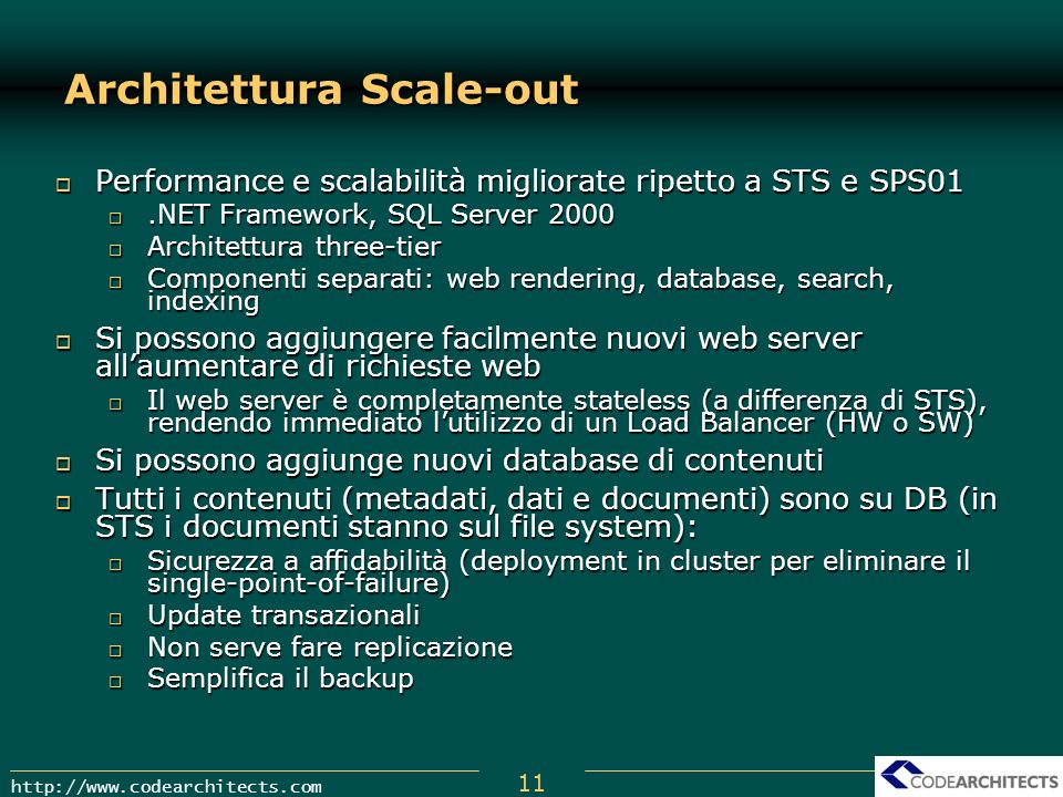 Architettura Scale-out