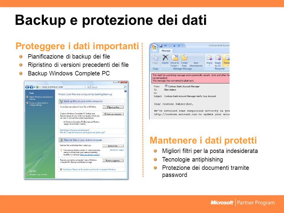 Backup e protezione dei dati