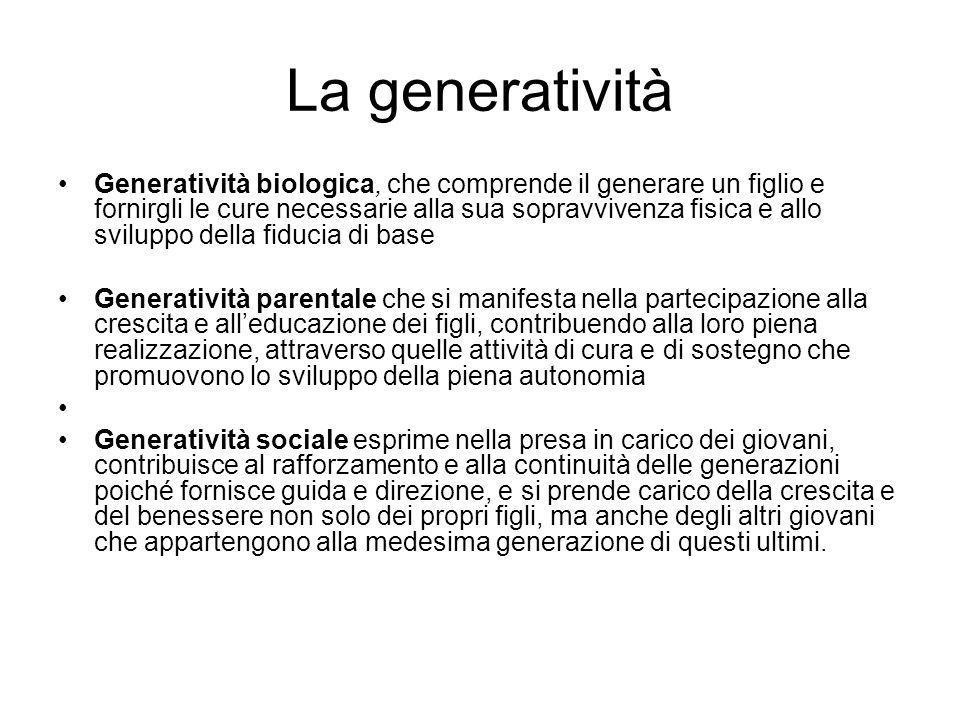 La generatività