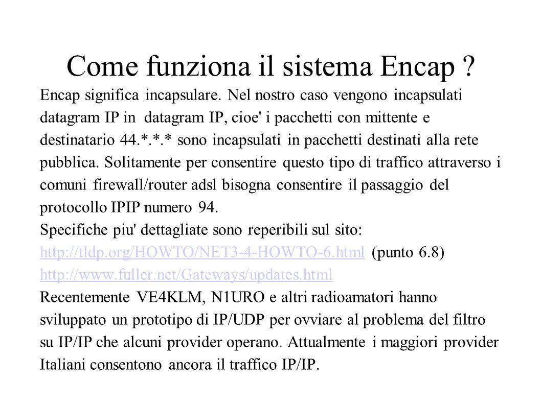 Come funziona il sistema Encap