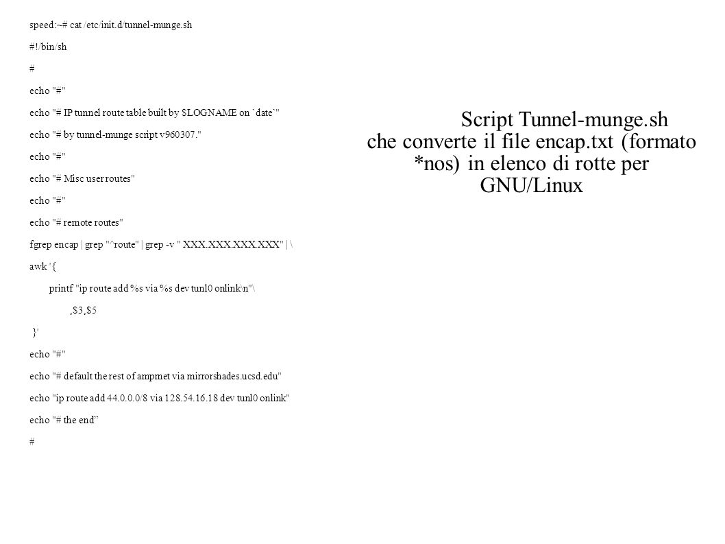 Script Tunnel-munge.sh