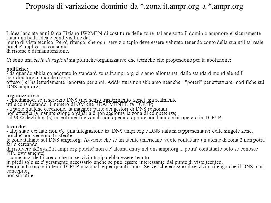 Proposta di variazione dominio da *.zona.it.ampr.org a *.ampr.org