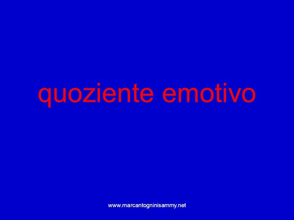 quoziente emotivo www.marcantogninisammy.net