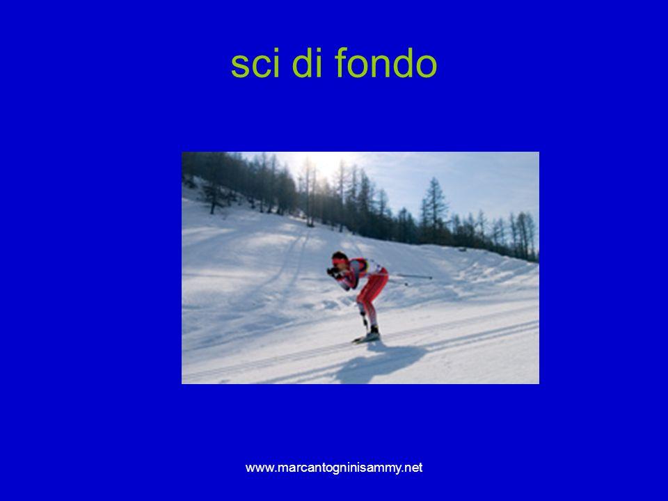 sci di fondo www.marcantogninisammy.net