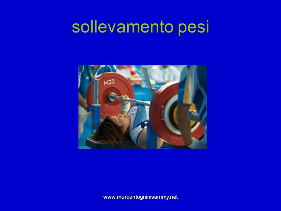 sollevamento pesi www.marcantogninisammy.net