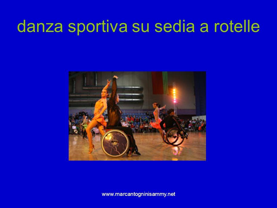 danza sportiva su sedia a rotelle
