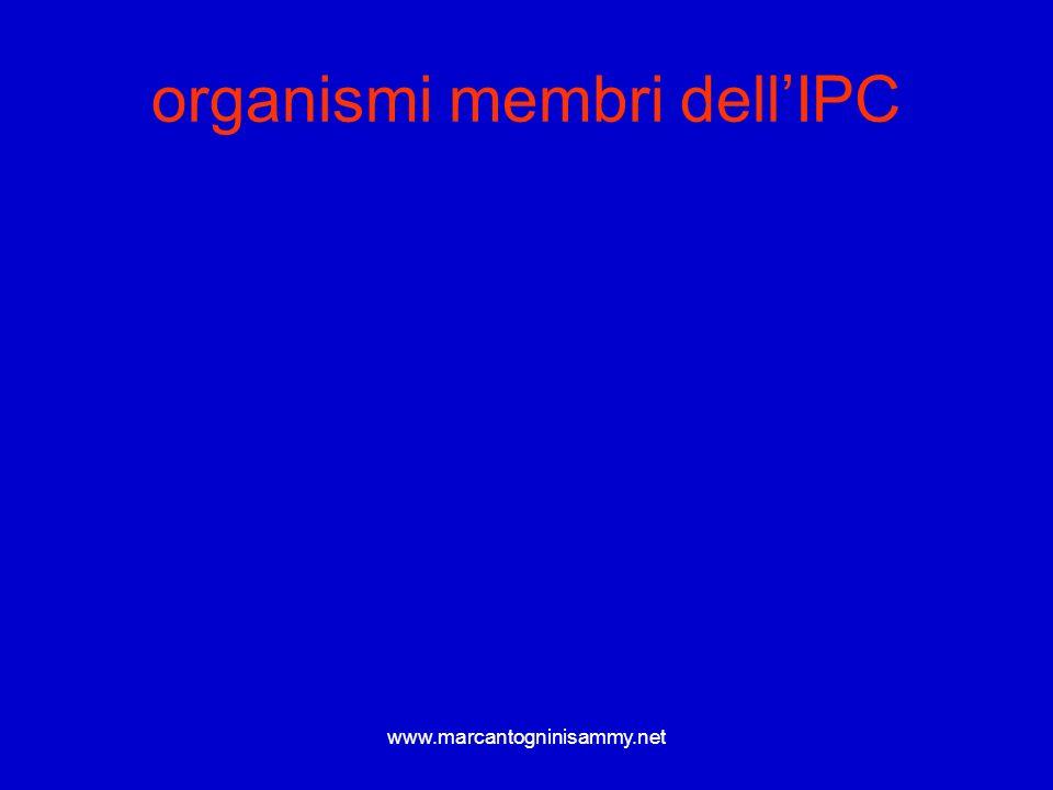 organismi membri dell'IPC