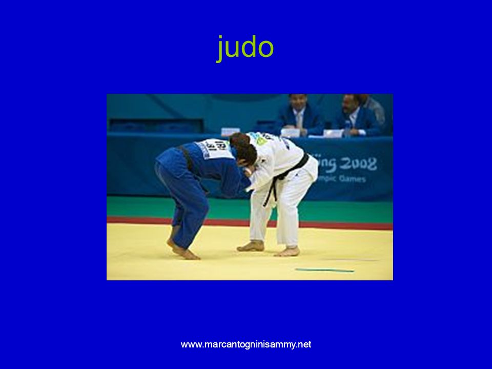 judo www.marcantogninisammy.net