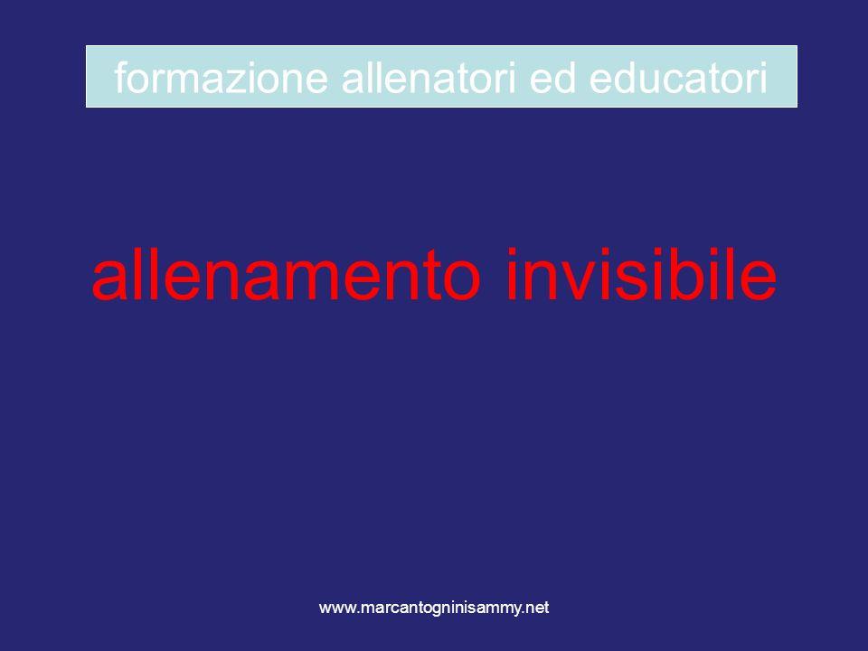 allenamento invisibile