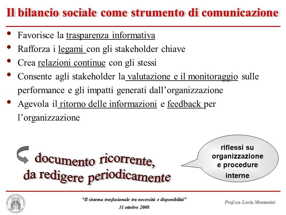 Il bilancio sociale come strumento di comunicazione