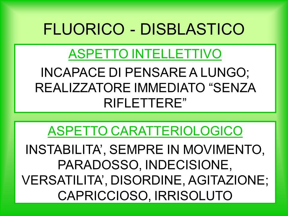 FLUORICO - DISBLASTICO