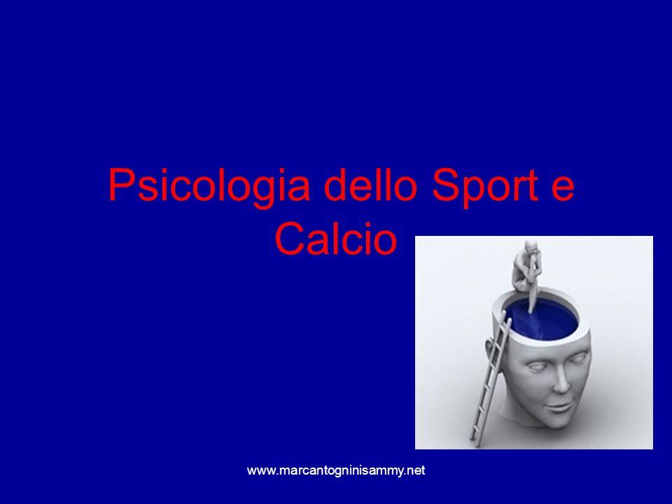 Psicologia dello Sport e Calcio