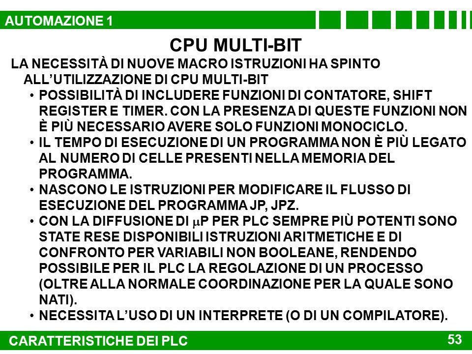 CPU MULTI-BIT AUTOMAZIONE 1
