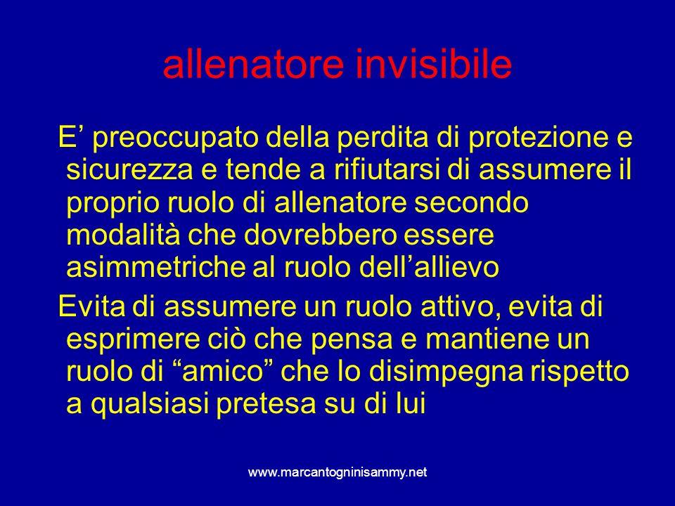 allenatore invisibile