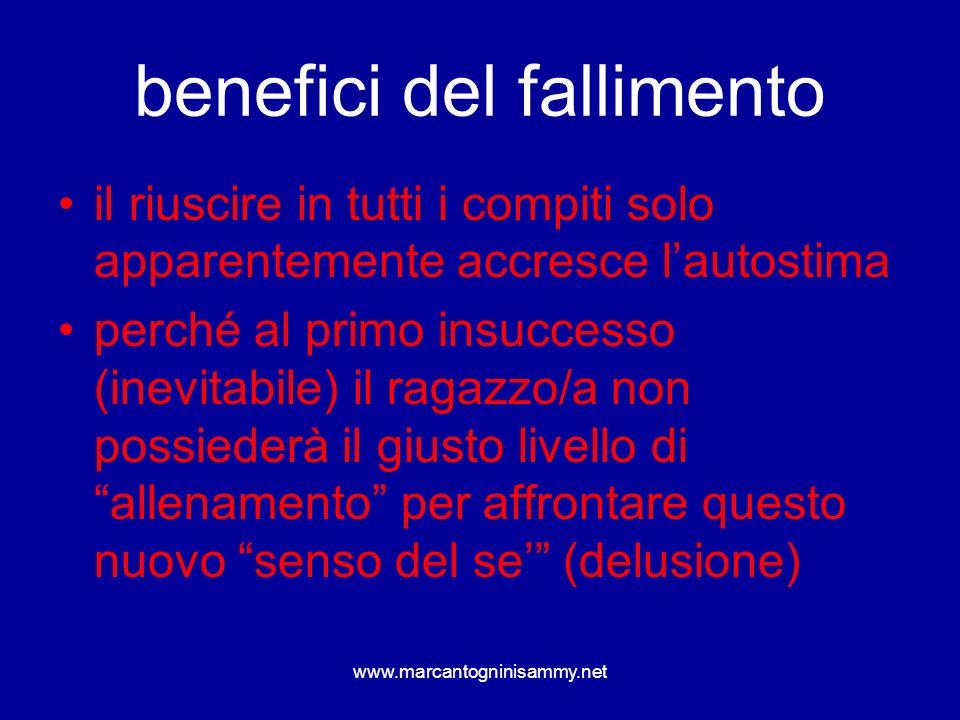 benefici del fallimento