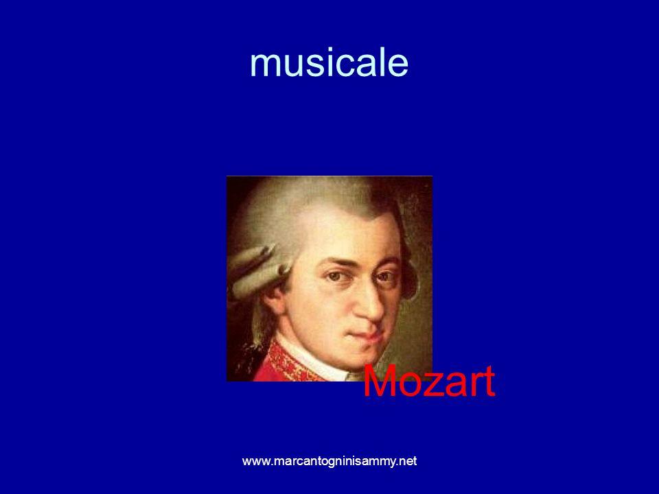 musicale Mozart www.marcantogninisammy.net