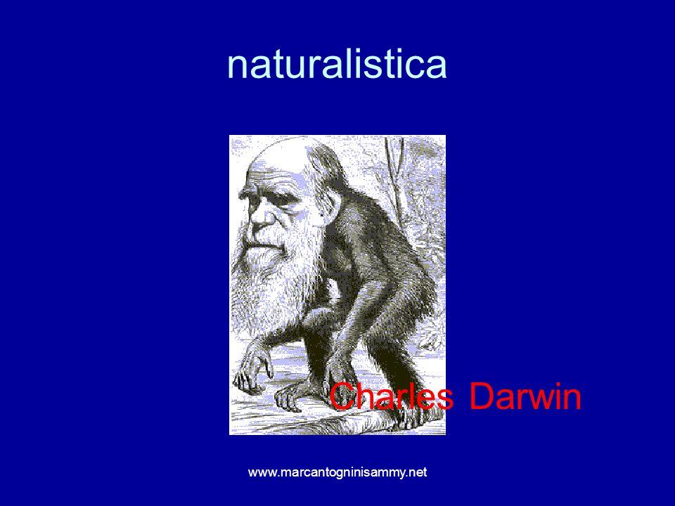 naturalistica Charles Darwin www.marcantogninisammy.net