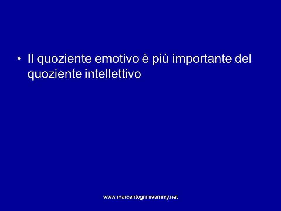 Il quoziente emotivo è più importante del quoziente intellettivo