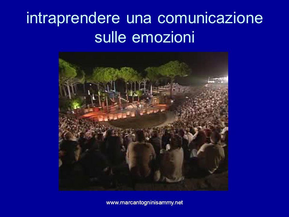 intraprendere una comunicazione sulle emozioni