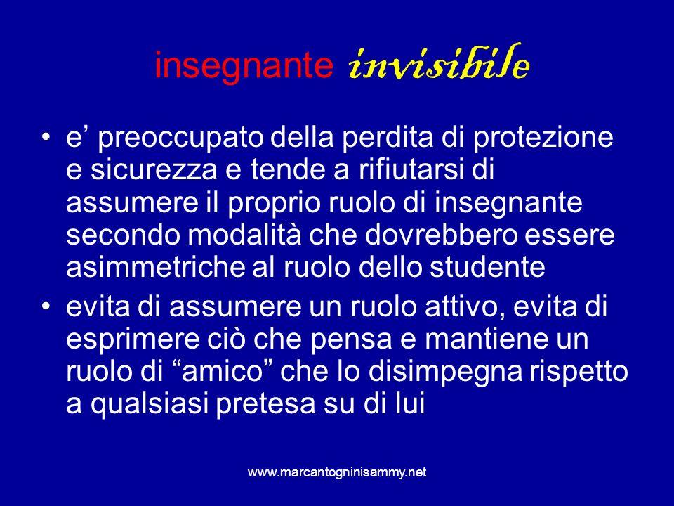 insegnante invisibile