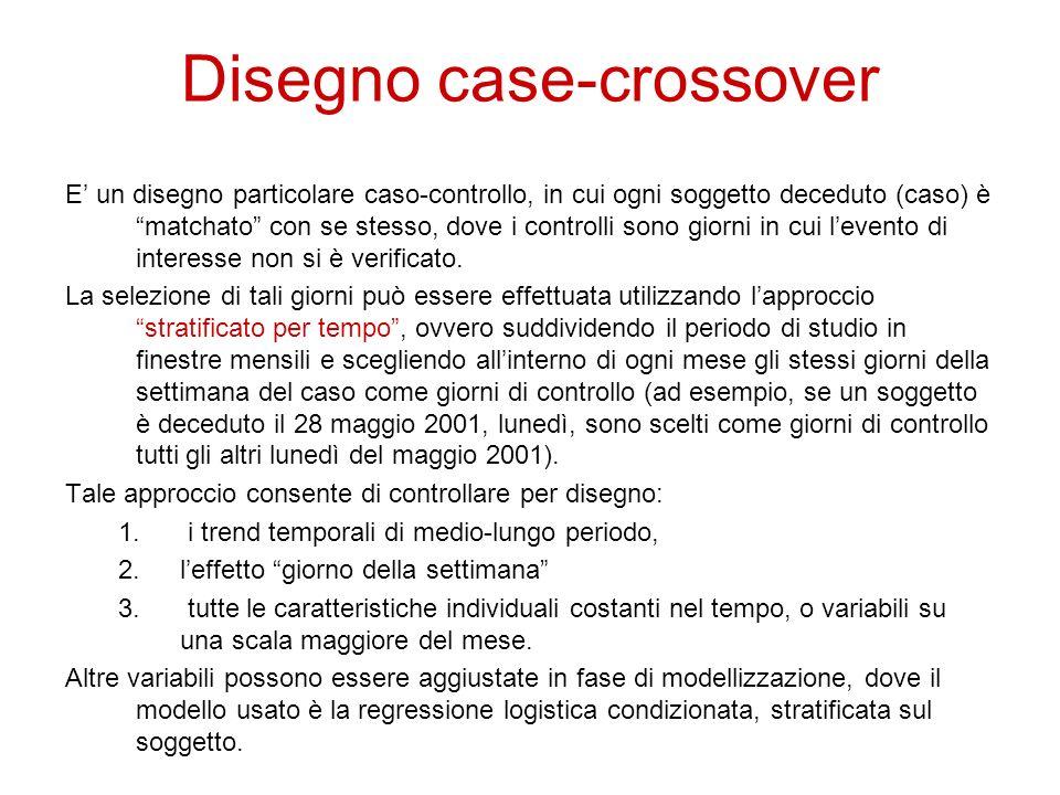 Disegno case-crossover