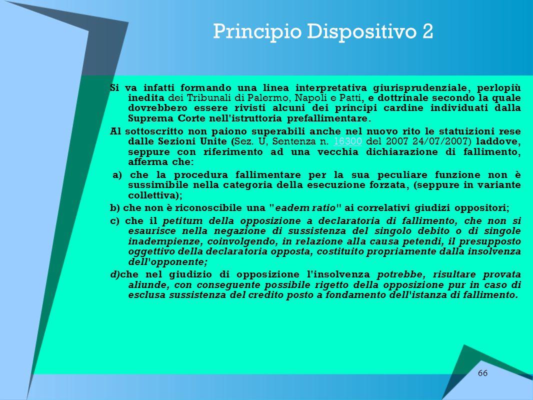 Principio Dispositivo 2