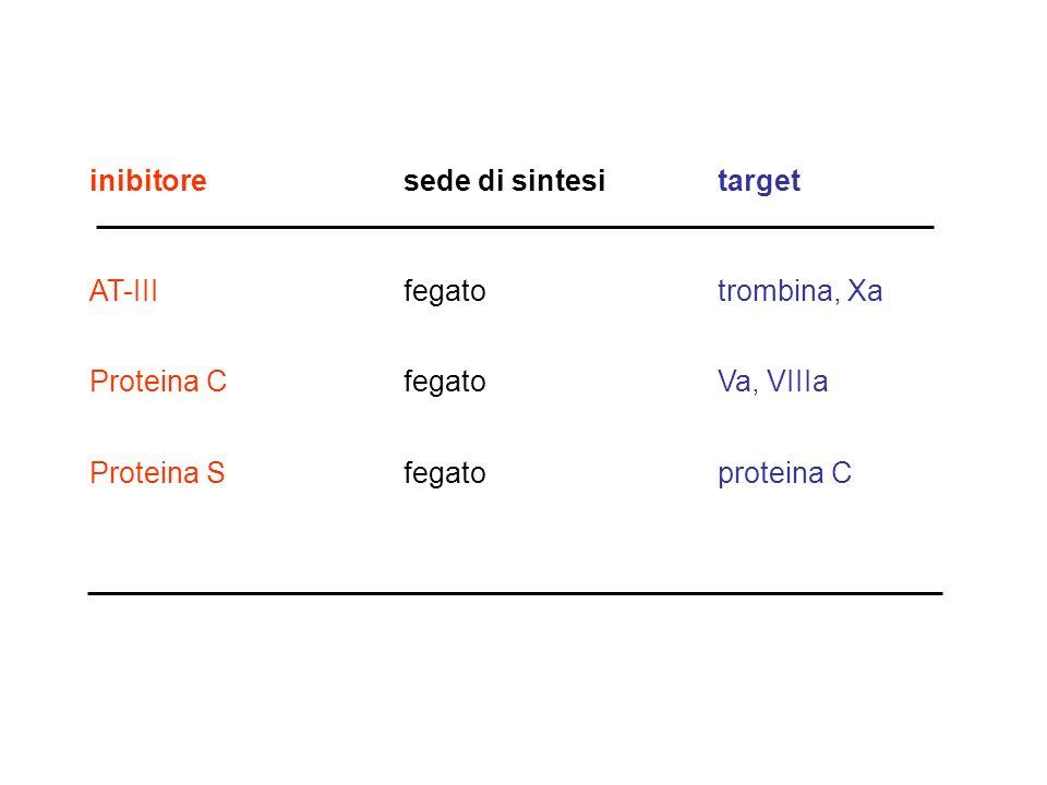 inibitore sede di sintesi target